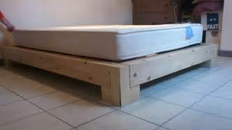 cr 233 ation d un cadre de lit en bois plan gratuit notre
