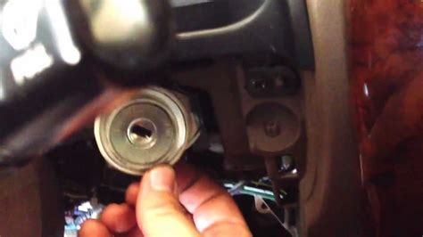 remove   toyota runner ignition lock cylinder