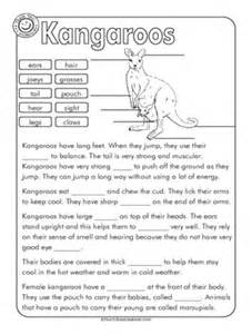 printable cloze reading passages for 4th grade 1000