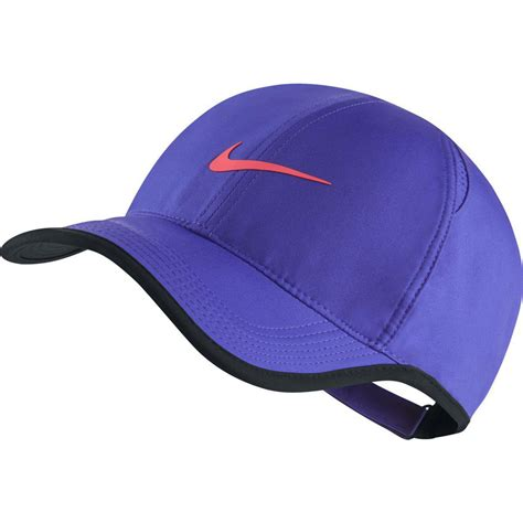 Nike Feather Light Cap by Nike Feather Light Adjustable Cap Violet Black