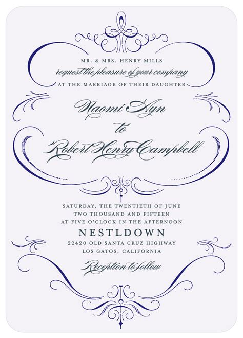 Wedding Invitations Formal by Formal Wedding Invitations What S Your Wedding Invitation