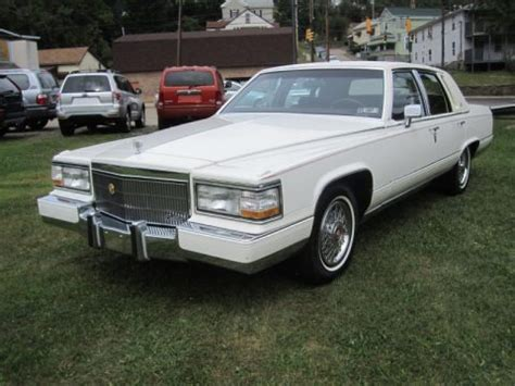 1990 cadillac brougham specs 1990 cadillac brougham data info and specs gtcarlot