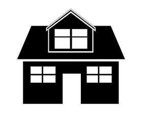 House Silhouette house clipart free stock photo public domain pictures