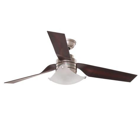 greenwich ceiling fan newsome 52 in indoor brushed nickel ceiling fan