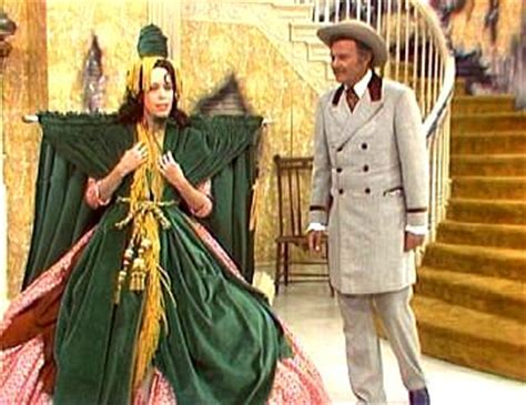 Carol Burnett Drapery Dress scarlet o hara costume rhett butler abe lincoln with the wind southern union officer