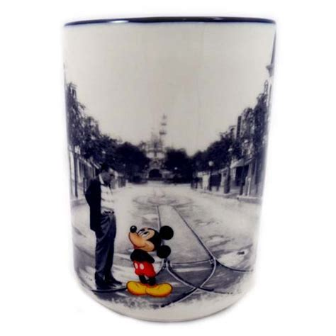 Your WDW Store   Disney Coffee Cup Mug   Mickey and Walt