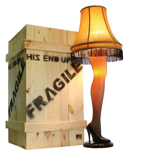 a christmas story leg l lights 45 quot leg l from a christmas story old man mr parker