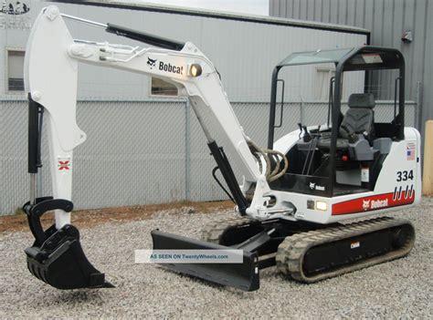 Ac Excavator bobcat 334g compact mini excavator 234513658