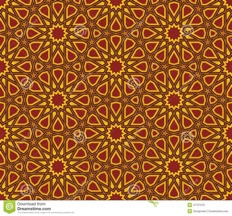 islamic pattern background vector islamic star pattern background stock vector image 47727210