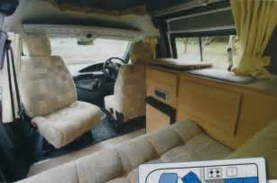 Interior Paint Used Outside Camper Van Conversion Example Layouts Campervan Life