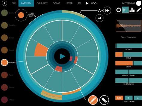 drum pattern ipad 10 best ios ipad drum machines apps producerspot