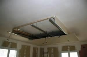 installation plafond deco placo