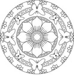 flower mandala coloring pages flower butterfly mandala coloring pages free fonts or