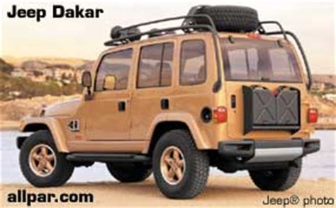 jeep icon concept jeep dakar and jeep icon concept cars 1997