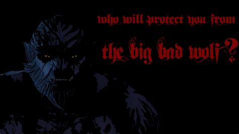 the big bad wolf series 9 the wolf among us big bad wolf wallpaper by sonicgx98 on