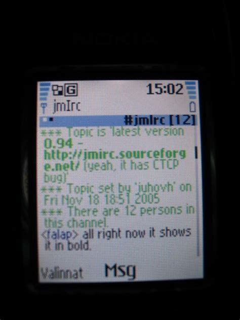 mobile irc yeppie irc on mobile arindam s weblog