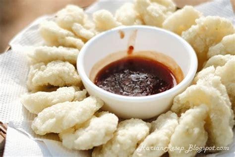 resep cireng bumbu rujak crispy khas bandung harian resep