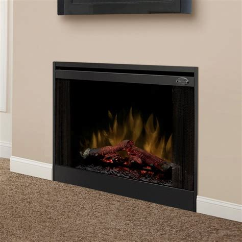 dimplex 33 in slim line built in electric fireplace