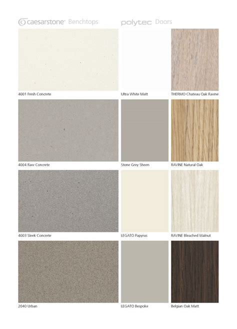 caesarstone colors chart our industrial look concrete range gt caesarstone
