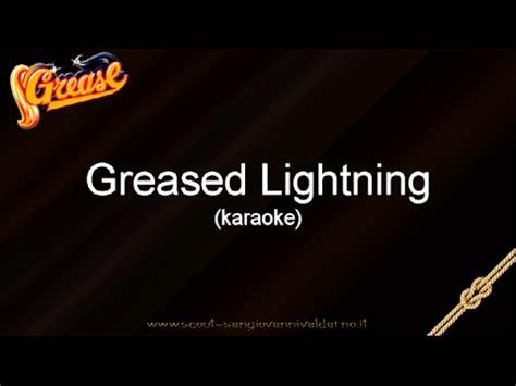 testo grease musical grease italiano greased lightnin karaoke