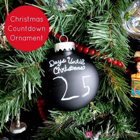 christmas countdown ornament the inspiration vault