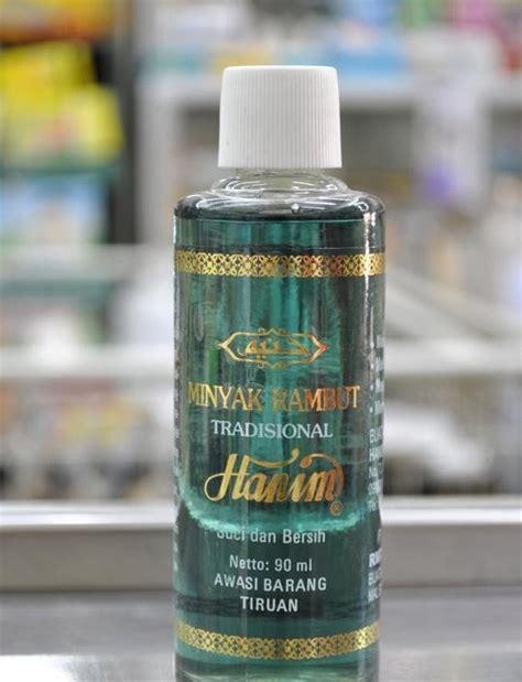 Minyak Kelapa Hijau kosmetik hanim minyak rambut hijau muda
