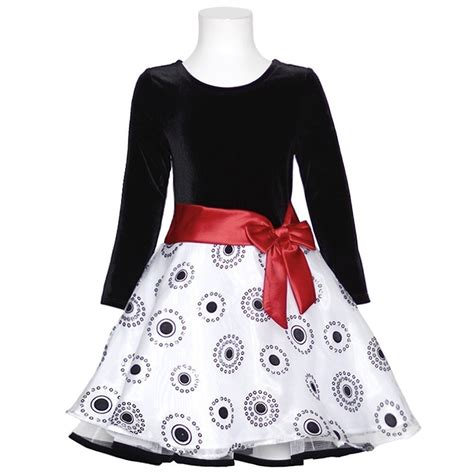 Christmas dress for your baby girl from bonnie jean this dress