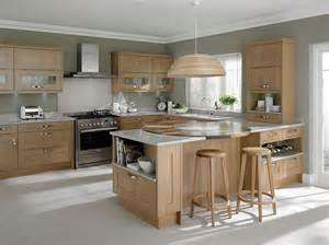 Light Oak Kitchen Cabinets Awesome Light Oak Wooden Kitchen Designs Light Oak Wooden Kitchen Designs With White Gray Wall
