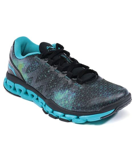 20 on li ning blue sport shoes on snapdeal