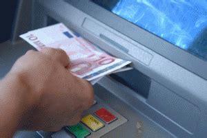 prelievo contante in limite ai prelievi di contante sul conto corrente come