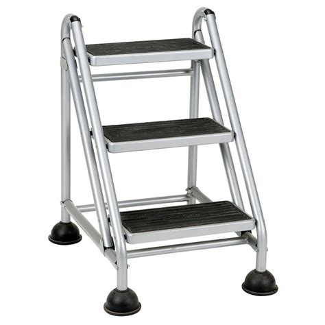 Cosco Rolling Commercial Step Stool by Upc 044681118739 Cosco R Rolling Commercial Step Stool
