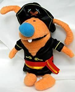 amazoncom playhouse disney bunnytown  plush captain