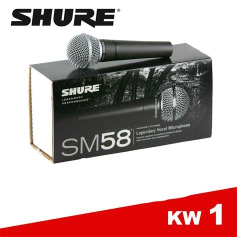 jual shure mic microphone kabel sm 58 jawa electrik