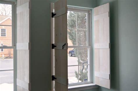 hometalk diy farmhouse style indoor shutters