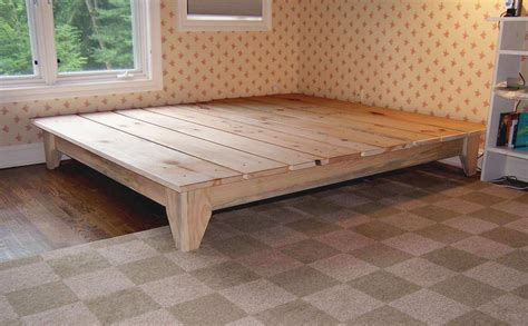 how to make bed frame the brilliant along with attractive easy way to build