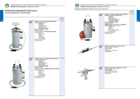 dispense pneumatica catalogo compressa a g martinelli