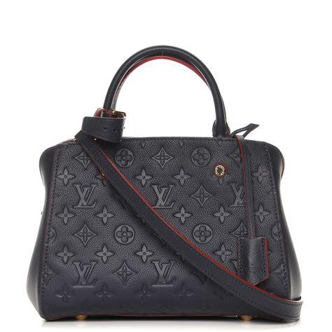 Louis Vuitton Montaigne Bb louis vuitton empreinte montaigne bb marine 228289