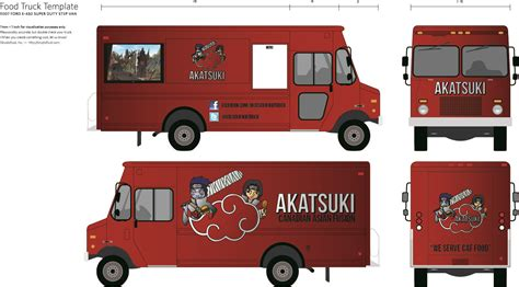 food truck layout template designing your own food truck