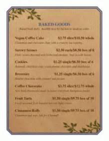 microsoft office menu template free restaurant menu template word publisher