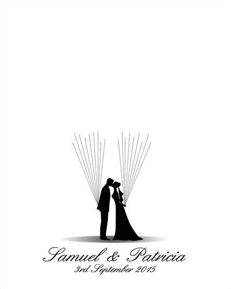 Unique Wedding Guest Book Alternative, Wedding Guestbook