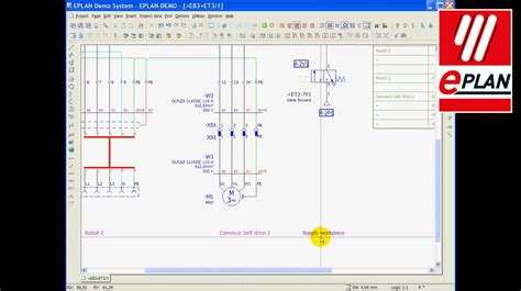 eplan electric p inplace editing youtube