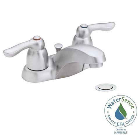 moen chrome bathroom faucet moen brushed chrome bathroom faucets