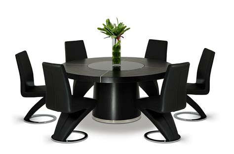 houston modern black dining table modern dining dining