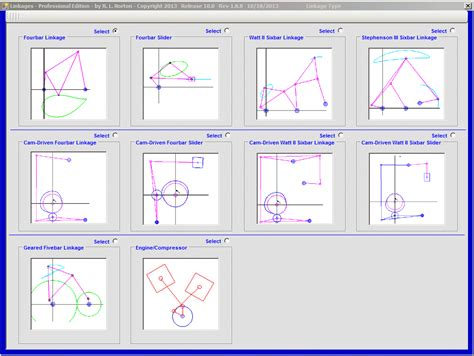 design of linkage editor image gallery linkage software