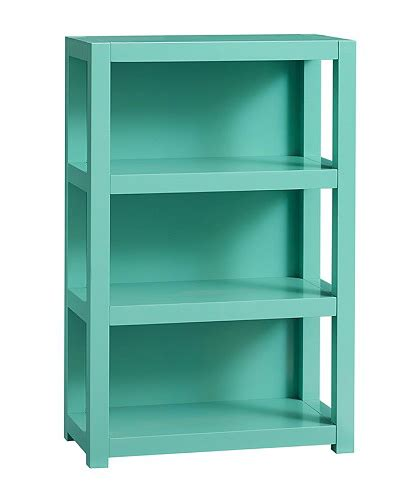 parsons bookcase everything turquoise