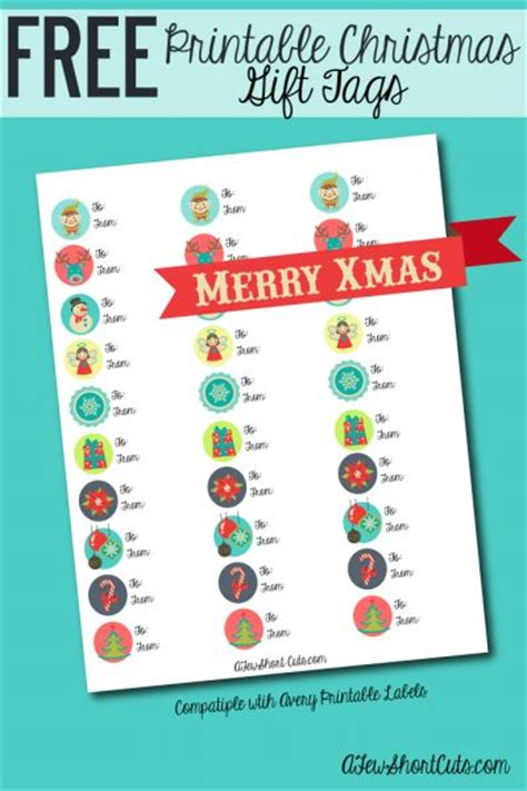 printable christmas gift tags avery labels free printable christmas to from labels gifts gift