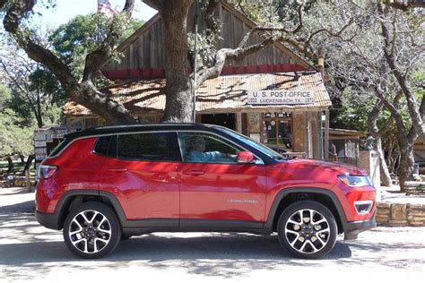jeep compass 2017 red 2017 jeep compass first drive review autotrader