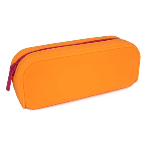 silicone pencil case kids back to stationery