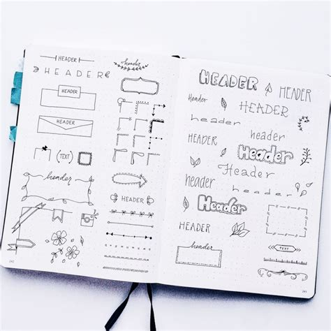 doodle planner planner doodles inspiration for your bullet journal