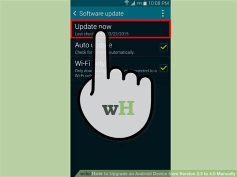 how to upgrade android version how to upgrade an android device from version 2 3 to 4 0 manually